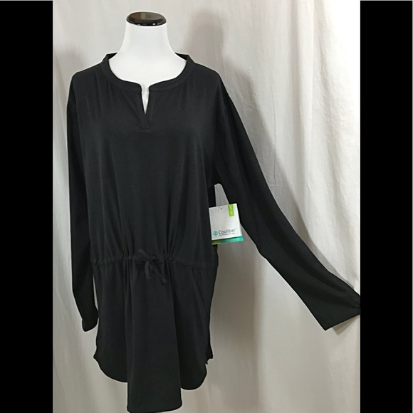 84cc318490abd coolibar Swim | Black Beach Cover Up Dress Upf 50 | Poshmark